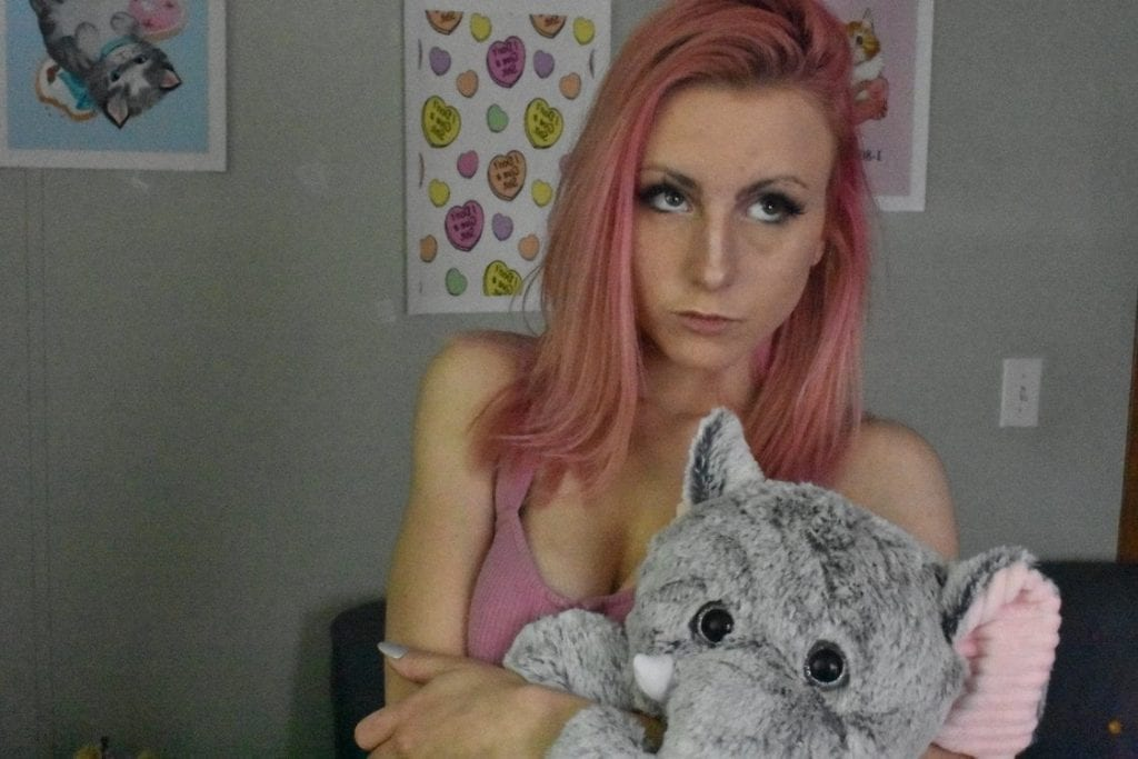 Pink Haired Kandii Kitten